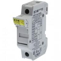 Fuse-holder, LV, 32 A, DC 1000 V, 10 x 38 mm, gPV, 1P, UL, IEC, DIN rail mount