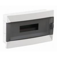 Easy9 flush enclosure 1 x 8, with Plain door