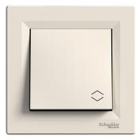 Two-way switch, 10 AX, Cream