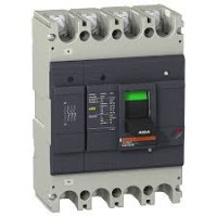 Molded case circuit-breaker EasyPact, 36 kA, 250 A, 4P/4T, Thermal-magnetic