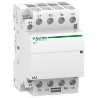 iCT manually operated contactor 4 N/O, 24 V, 63 A