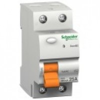 Residual Current Circuit Breaker ID DOMAE, 2P, 25 A, 30 mA, AC