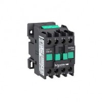 Contactor EasyPact TVS, 3P with (1 N/C) auxiliary contacts, 110V AC coil 60 Hz, 6A