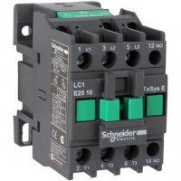 Contactor EasyPact TVS, 3P with (1 N/O) auxiliary contacts, 440V AC coi 50 Hz, 6A