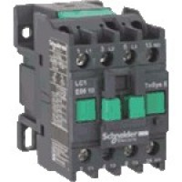 Contactor EasyPact TVS, 3P with (1 N/O) auxiliary contacts, 440V AC coi 50 Hz, 9A