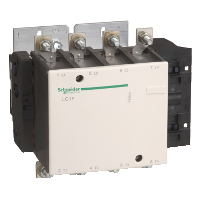 Contactor TeSys F, 4P(4 N/O) 120V AC coil, 115A