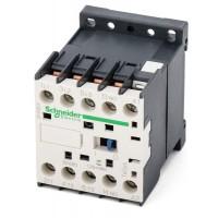 Contactor TeSys K, 3P(3 N/O) 110V AC coil, 12A