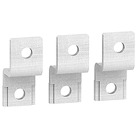 Double-L terminal extensions, set of 3