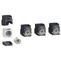 Aluminium connectors, set of 4