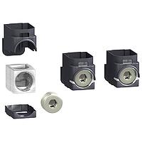 Aluminium connectors (10 to 185 mm²), set of 3