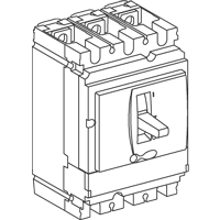 Switch-disconnector NSX160, 160 A, 2P