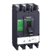 Molded case circuit-breaker CVS100B, 25 kA, 16 A, 4P/4d, Thermal-magnetic
