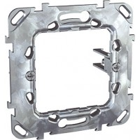 "Universal fixing frame with long fixed claws, ""Zamak"", 1-gang"