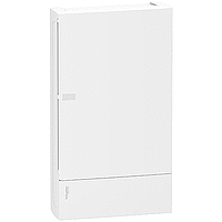 Mini Pragma surface enclosure 3 x 12, with Plain door