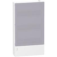 Mini Pragma surface enclosure 3 x 12, with Translucid door
