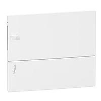 Mini Pragma recessed enclosure 1 x 12, with Plain door