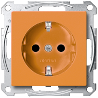 SCHUKO®Socket-outlets for special circuits, Orange