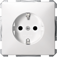 SCHUKO® Socket-outlets for special circuits, Polar White