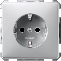 SCHUKO® Socket-outlets for special circuits, Aluminium
