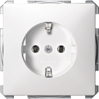 Socket-outletSCHUKO®, Polar White