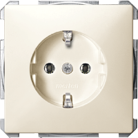 Socket-outletSCHUKO®, White