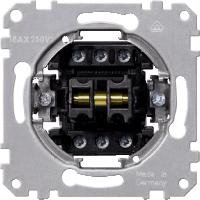 One-way switch 1 pole/ One-way switch 2 pole insert