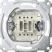 Push-button insert make contact 1 pole, 10 AX, 250 V AC, screwless terminals