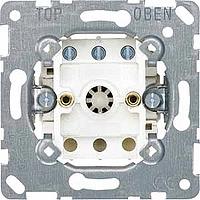 Fan rotary switch insert, 10 A, 250 V AC