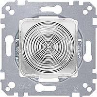 Light signal E 10 insert, hood, green/yellow/white