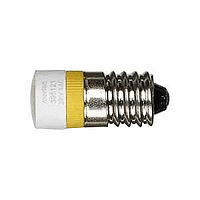 LED lamp AC 230 V, yellow