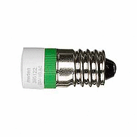 LED lamp AC 230 V, green