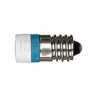 LED lamp AC 230 V, blue