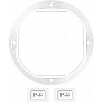 Sealing ring for augmenting the level of protection to IP 44