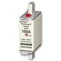 NH fuse link, size 000, class gG/gL, 500 V, 100 A