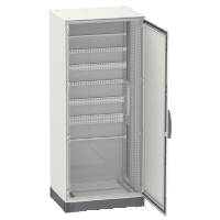Monoblock enclosure without mounting plate Special SM, 1600x800x400, 1 transparent door