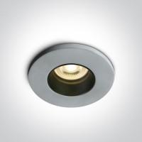 10105CM CEMENT GU10 10W BLACK REFLECTOR DARK LIGHT
