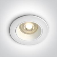 10105D3/W WHITE DARK LIGHT GU10 50W