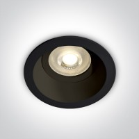 10105D4/B BLACK DARK LIGHT GU10 50W