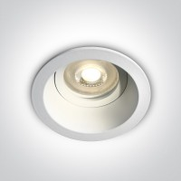 10105D4/W WHITE DARK LIGHT GU10 50W