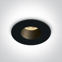 10105MD/B/B BLACK GU10 10W BLACK REFLECTOR DARK LIGHT