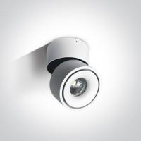 12109LA/W/W WHITE COB LED 9W WW IP20 230V