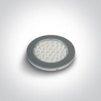 12122/G/W CABINET LIGHT 3W LED WW 24V DC
