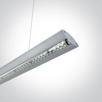 38016/G/W GREY PENDANT LED 16w WW