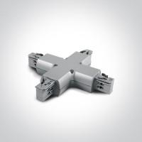 41018/G GREY X CONNECTOR