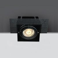 51010TR/B BLACK MR16 GU10 TRIMLESS BOX