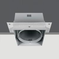 51100TR/W WHITE 1L TRIMLESS BOX