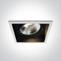 51110AD/B BLACK 75W R111 GU10 DARK LIGHT