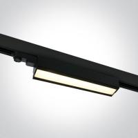 65026T/B/W BLACK LED 40W WW LINEAR TRACK LIGHT ADJUSTABLE 230V