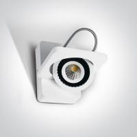 65107/W/W WHITE LED 7W WW IP20 ADJUSTABLE 100-240v