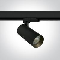 65522T/B BLACK MR16 GU10 10W TRACK SPOT DARK LIGHT